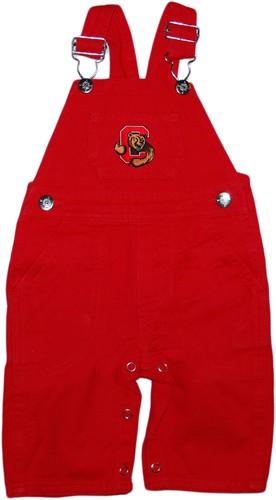 Cornell University Big Red Baby Overalls