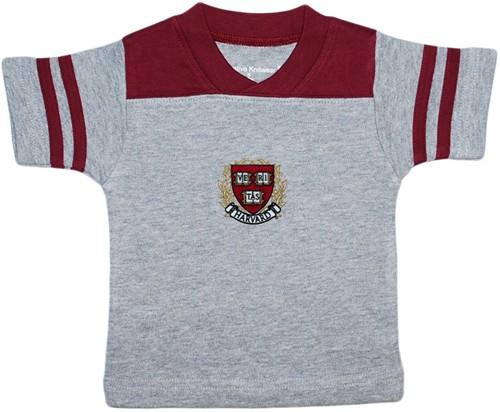 Harvard Crimson Baby 12M-24M Team Logo S//S Shirt